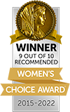 Women's Choice Awards - Americas Most Recommended Moving Company
